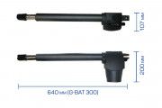 G-Bat 300: Габаритные размеры
