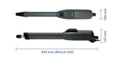 Mistral LS 324: Габаритные размеры